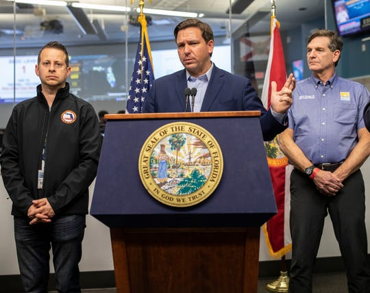 Gov. Ron DeSantis holds a March 21 press conference to address the latest updates on how COVID-19 is impacting Florida and what steps his team is taking to prevent the spread of the virus.