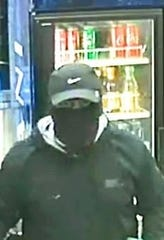 Police say a man forced his way into the Valero Corner Store at 6200 Edgemere Blvd. at 12:10 a.m. on March 9, held a construction crew at gunpoint, then fled with cash.