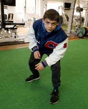Carmel seventh grader P.J. Duke, is the 2020 Westchester/Putnam Wrestler of the Year. Here he is photographed at Total Form Fitness in Hartsdale, March 21, 2020.