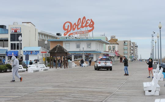 Rehoboth Beach has closed its boardwalk and beach on Saturday, March 21 on orders from Gov. Carney amid concerns of the novel coronavirus.