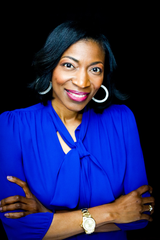 JeFreda Brown, 43, a financial consultant, instructor and speaker in Birmingham, Alabama. Many of her clients are self employed and so is she. As her clients feel the pinch, she does, too.