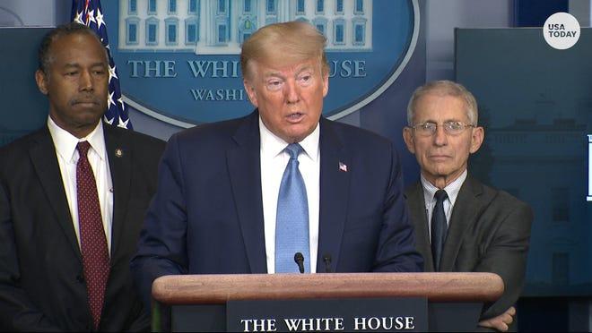 President Trump says historic coronavirus stimulus legislation is 'very close'