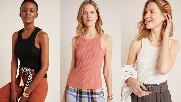 This tank will become a wardrobe staple.