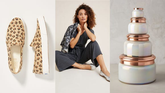 Shop this weekend sale at Anthropologie from the comfort of your couch.