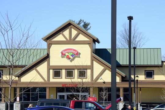 The Hannaford supermarket on Dorset Street in South Burlington on Sunday, March 22, 2020.