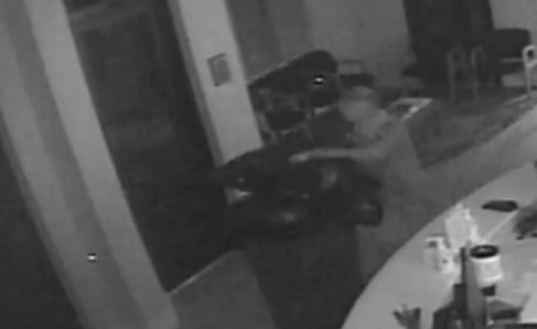 A man was caught on security video burglarizing a medical office of supplies in south Fort Myers on Wednesday. Law enforcement is looking for information on the man.