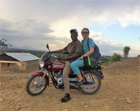Daisy Grochowski, a nurse-midwife from Wauwatosa, gets a lift to her postpartum visits in Hinche, Haiti, where she works as the education director for Midwives for Haiti. Grochowski is among hundreds of Americans stranded overseas as countries lock down their borders and ground commercial airlines in an effort to slow the coronavirus.