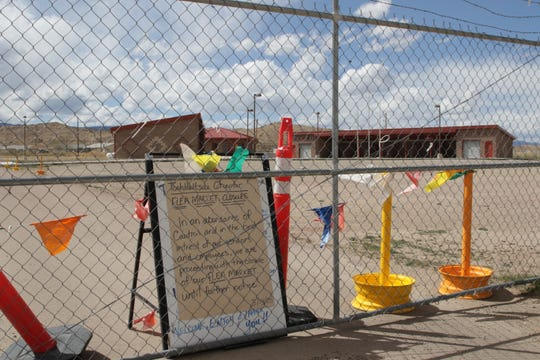 The Tooh Haltsooí Council of Naataanii closed its flea market in Sheep Springs in response to public health concerns over the coronavirus.
