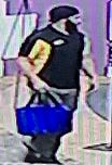 A photo of a man who is suspected to have stole 29 COVID-19 test kits on March 20, 2020