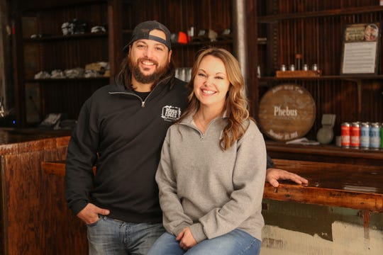 Wesley and Casey Phebus opened Rough Edges Brewery in Waynesboro in February, but had to postpone their official grand opening last weekend due to the coronavirus.