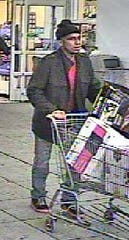 Springettsbury Township Police are hoping to identify this man, suspected of theft and hit-and-run.