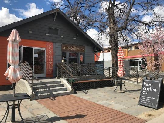 Bibo Freddo and Bibo Coffee Co. remained open on Saturday, March 21, 2020.