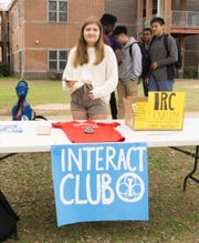 A variety of different clubs volunteered to run booths representing an array of cultures, languages, and causes. Some clubs offered international food samples: