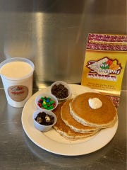 Four Seasons Diner in Toms River is offering make-your-own pancake kits.