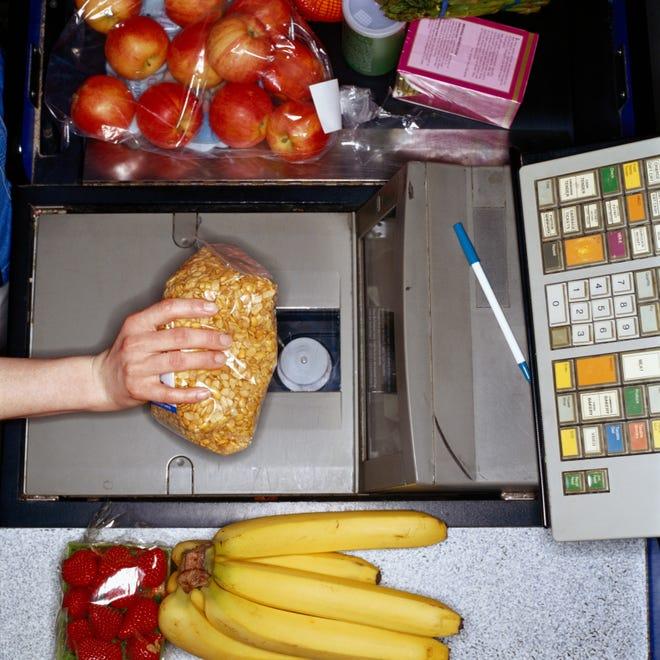 Supermarket register
