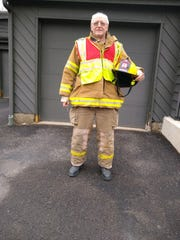Irv Soden, shown at his Vestal home, has 43 years of experience in the fire service.