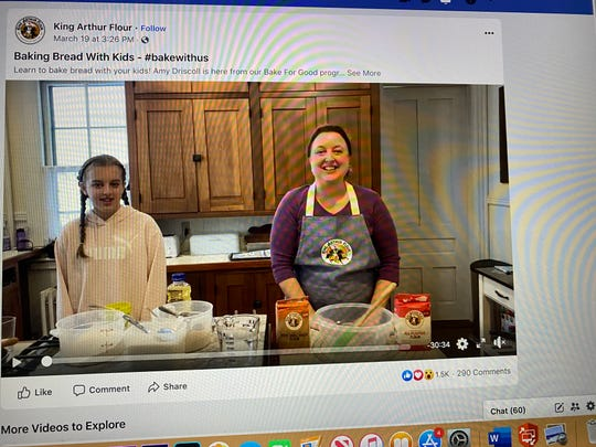 King Arthur Flour bakes the math into it's virtual lessons