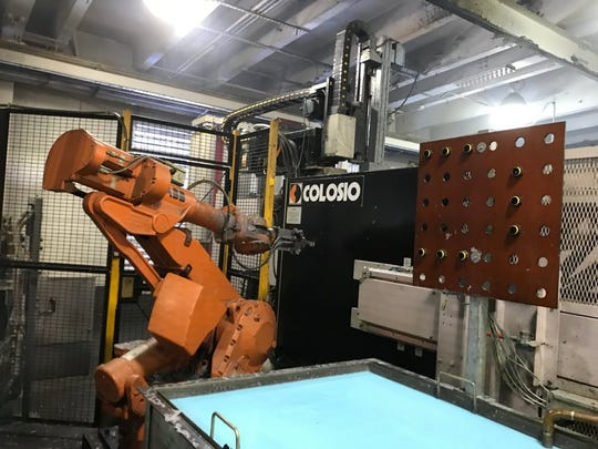 The Colosio machine at Twin City Die Castings Co.'s Minneapolis facility performs the die cast process, the first step to machine parts.