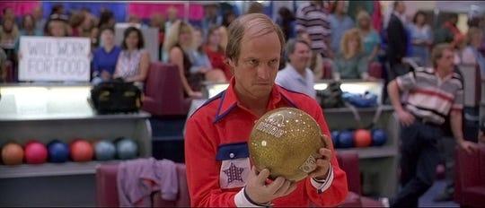 """Woody Harrelson in """"Kingpin."""""""