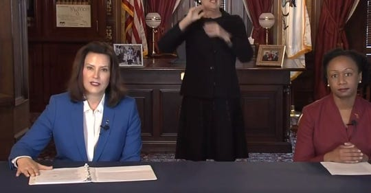 "Gov. Gretchen Whitmer has issued a ""Stay Home, Stay Safe"" executive order to stem the spread of coronavirus."