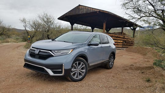 New for 2020, the Honda CR-V Hybrid is the best performing CR-V with 212 horsepower and excellent torque.