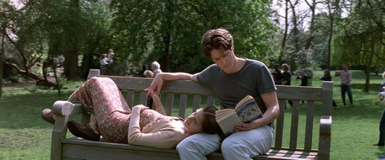 """Julia Roberts and Hugh Grant in """"Notting Hill."""""""