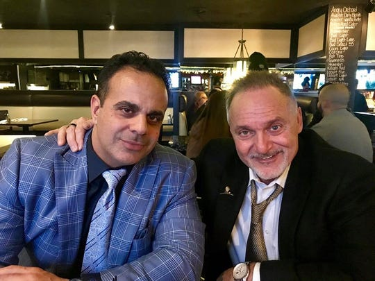 Chef Bobby Nahra, left, and restaurateur Louie Bricolas give back to the community