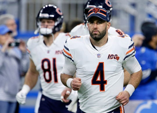 Detroit will be quarterback Chase Daniel's sixth stop in 11 years.