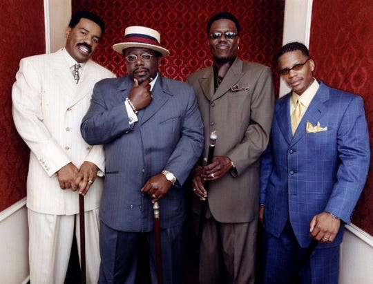 """Steve Harvey, Cedric the Entertainer, Bernie Mac and D.L. Hughley are """"The Original Kings of Comedy."""""""