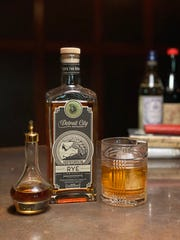Make a Perfect Manhattan at home with Detroit City Distillery's Homegrown Rye whiskey