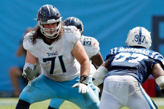 Titans offensive tackle Dennis Kelly has been hunkered down with his family in the Indianapolis area since the birth of his third daughter a month ago. That makes dealing with the coronavirus a bit easier for Kelly, one of hundreds of NFL players who have self-isolated while the league sorts through what's next.
