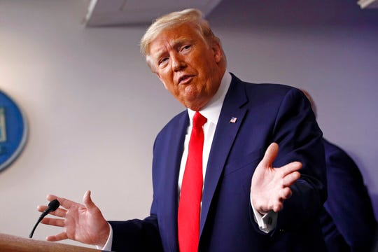 President Donald Trump had a conference call with commissioners of the major sports leagues on Saturday.