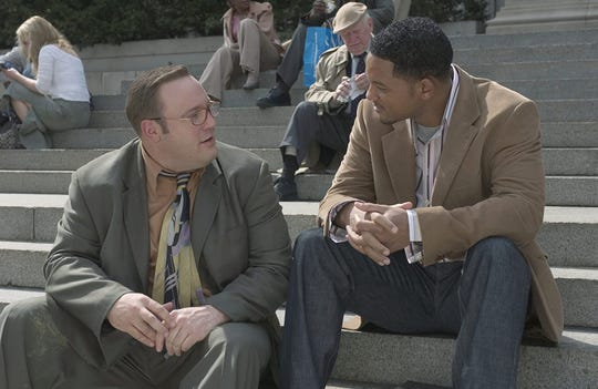 """Kevin James and Will Smith in """"Hitch."""""""