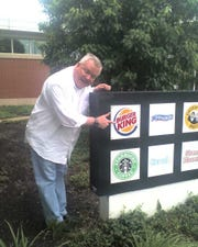 Bob Wojnowski with his first love, Burger King.