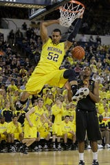 Former Michigan forward Jordan Morgan plays with Pınar Karşıyaka of the Turkish Basketball Super League, which was one of the last European leagues to suspend play.
