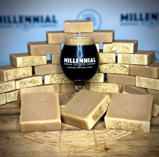 Millennial Brewing Co. in Fort Myers is making beer soap using its Irish stout