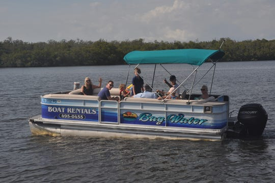 The Fuhs family rented a boat this week from Bay Water Boat Rentals in Bonita Springs. The three generations of family were glad to have something fun and safe to do in the community.