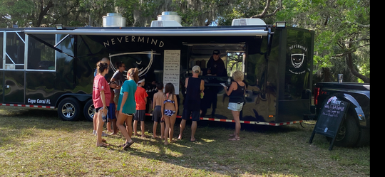 Nevermind's food truck has been all over Southwest Florida as the restaurant adapts to life with coronavirus.