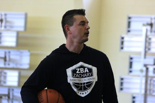 Randy Zachary, 45, runs Zachary Basketball Academy in Anderson.