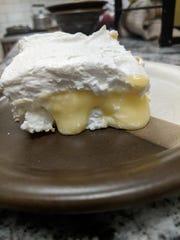 This lemon dessert is really a simple form of lemon meringue pie.