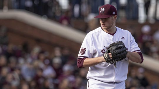 Mississippi State pitcher Christian MacLeod was 4-0 with an 0.86 ERA before the coronavirus pandemic forced the season to get canceled. It was the second year in a row that MacLeod's season was affected by unforeseen circumstances.