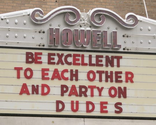 The Historic Howell Theater has requested the use of a parking lot in Howell for a temporary drive-in movie theater.