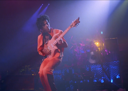 "Prince extended his purple (or, in this case, coral) reign with the concert movie ""Sign 'O' the Times."""