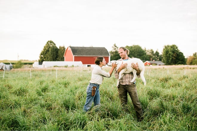 Michael and Courtney Gutschenritter  started Three Brothers Farm in Oconomowoc in 2013.