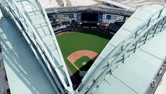 Miller Park will open to the Milwaukee Brewers next week as the Major League Baseball season restarts.