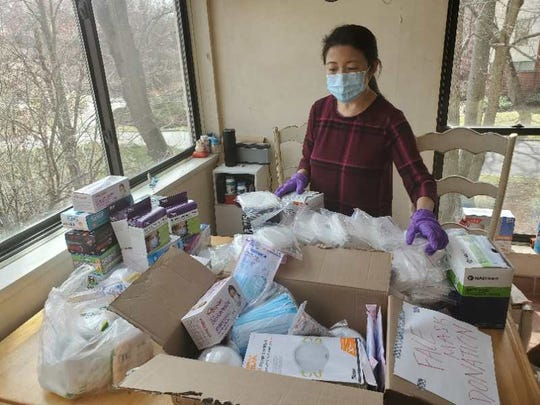 The Ridgewood Chinese American Association donated thousands of masks to Valley Hospital.