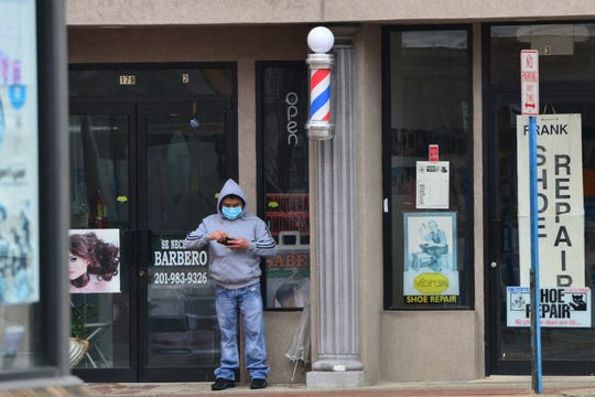 In response to the coronavirus, New Jersey Governor Phil Murphy issued a statewide stay at home order, has closed all non-essentials businesses closed on Main St in Hackensack, N.J. on Monday March 23, 2020.