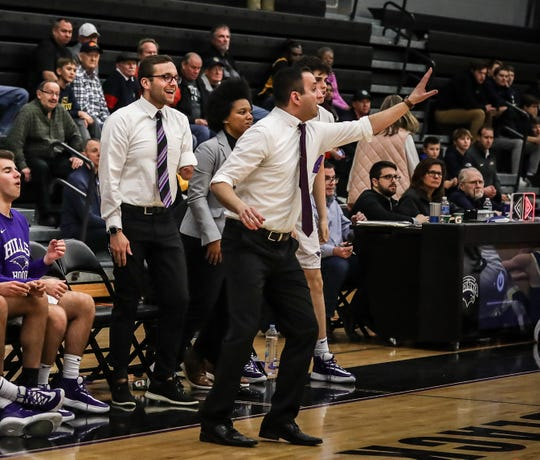 Kal Riebau has spent one season with Bloomfield Hills after stints with Marquette and Detroit Mercy.