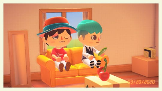 """A screenshot from """"Animal Crossing: New Horizon"""" on the Nintendo Switch."""