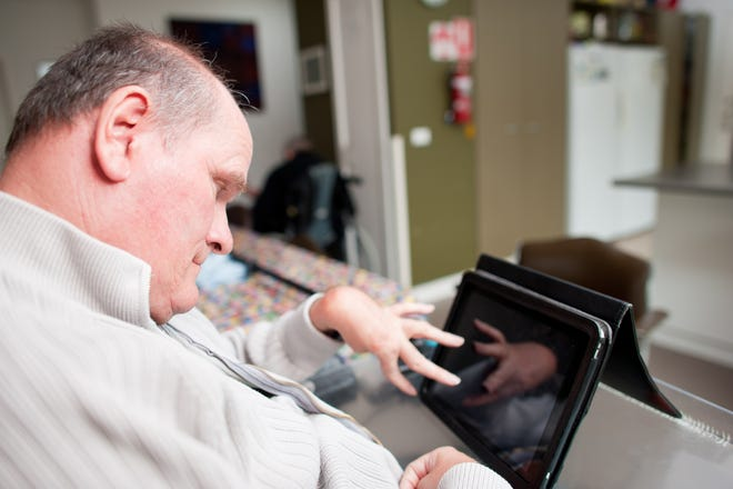 Because of the COVID-19 pandemic, by New York state mandate, group homes for the disabled can longer accept visitors. So agencies including Heritage Christian Services and Epilepsy-Pralid are using technology to keep group home residents connected to their loved ones.